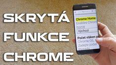 SKRYTÁ FUNKCE pro snadnější ovládání velkých telefonů při prohlížení int...