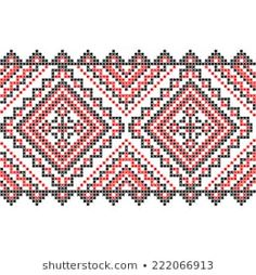 Scandinavian Seamless Pattern Stock Vector (Royalty Free) 90694426 Scandinavian, Bohemian Rug, Royalty Free Stock Photos, Embroidery, Ornaments, Illustration, Pattern, Pictures, Cross Stitch Embroidery