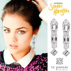 #SimonHarrison #Swarovski #crystals #exclusive #jewelry #TZjewelry #unique #earrings