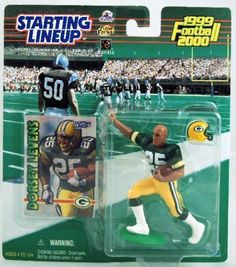 Starting Lineup - 1999 - Dorsey Levens - Green Bay Packers - NFL