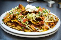 nachoes with ranch style beans | new mexican soul food albuquerque, restaurants albuquerque | My ...