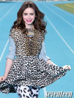 Outtakes from Lily's Seventeen cover shoot!
