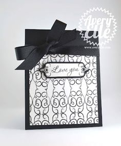 Card by Jamie for www.averyelle.com using the Sentimental Swirls stamp set.
