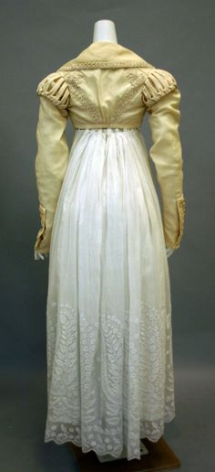 Spencer - 1820-25 (British) silk cotton