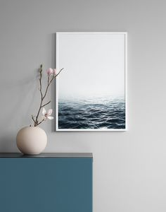 Sea photography print...