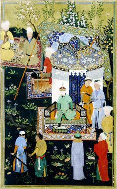 Kamāl ud-Dīn Behzād - Wikipedia, the free encyclopedia