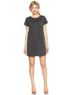 Ponte mini dress from Gap. Could work for an outfit I pinned ages ago.