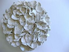 Hydrangea Wall Flower by DillyPad on Etsy, $90.00
