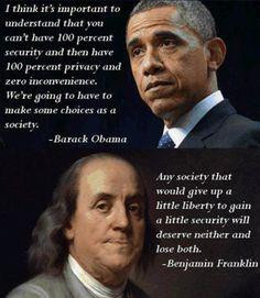 Obama vs Franklin