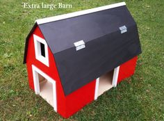 Hey, I found this really awesome Etsy listing at https://www.etsy.com/listing/216921849/xl-wooden-toy-barns-or-stables-with-4