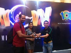 Lucky Draw Winners at the Wow Mid-sale!!