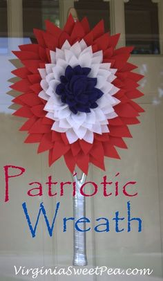 Patriotic Wreath for