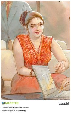 Indian Women Painting, Indian Art Paintings, Old Paintings, Sexy Painting, Woman Painting, Cartoon Girl Drawing, Girl Cartoon, Set Saree, Snake Girl