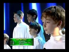 Libera Choir sings 'Joy to the World' on 'ASAP'