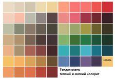 И наконец-то заканчиваем знакомиться с палитрами колоритов=) (Теорию цветотипов можно почитать здесь: http://color-harmony.livejournal.com/20 2756.html )…
