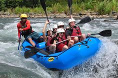 Whitewater Rafting on the Savegre River from Jacó Run the cleanest river in Costa Rica that just so happens to have Class III rapids year-round! An adrenaline-packed adventure is just an hour away from Manuel Antonio hotel's area. Come and enjoy this tropical outdoor excursion, where everyone is welcome… nature lovers, families, and especially adrenaline enthusiasts.Begin the day with a pickup from your Jacó area hotel. The Savegre River is about an hour an...
