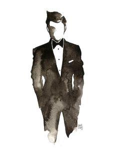 Suit silhouette