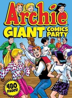 ARCHIE GIANT COMICS PARTY collects 480 pages of iconic Archie tales in this one amazing volume! Follow America's favorite red-head as he navigates the pressures of the American teenager in the awkward