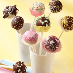Bahlsen Cake Pops mit Comtess Choco-Chips #LifeIsSweet #baking