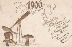 Neujahrskarte 1906.