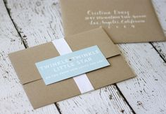 {Shower Invitations} :: Twinkle Twinkle Little Star :: Le Partie Sugar