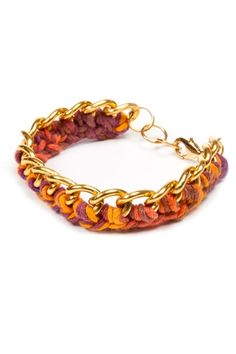 Sunset Chain Bracelet www.hearts.com