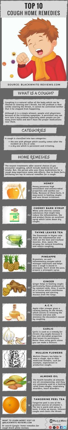 Cough remedies for adults and kids. Learn how to get rid of mucus caused by a dry one in your throat with natural homemade medicine.