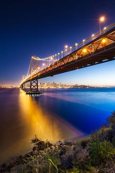 San Francisco City by the Bay Twilight by Tim Miley on 500px