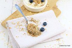 Geroosterde havermout met kaneel en vanille - #toasted #oats Mind Your Feed