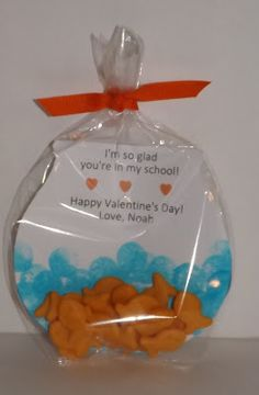 Coley's Corner: Our Version of the Fish Bowl Valentine