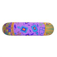 Witches spell Skateboard design by Witches Hammer shop on Zazzle.
