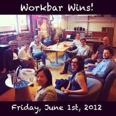New Faces at Workbar June 2012 (link: http://workbar.com/workbar-wins-june-2012/)