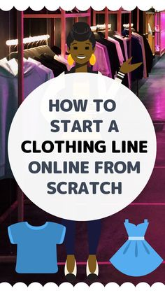 how to start a clothing line online from scratch Starting A Clothing Business, Bussines Ideas, Become A Fashion Designer, Make Your Own Clothes, Small Business Marketing, Online Business, Fashion Design Drawings, Fashion Line, Fashion Branding