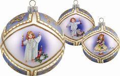 "G. Debrekht Nutcracker Clara Glass Ball Ornament, 3.5"" G. Debrekht http://www.amazon.com/dp/B008ZSG3BE/ref=cm_sw_r_pi_dp_W3Z5vb1G4J0KN"