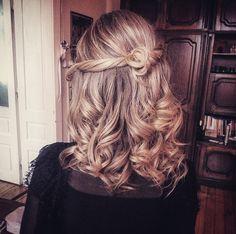 #curly #elegant #hairstyle