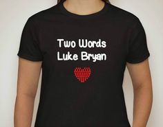 Luke Bryan Rhinestone Tee- $18 and Free Shipping (S-2XL)