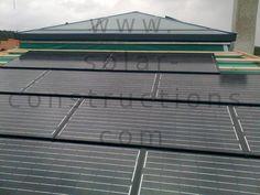 geïntegreerde fotovoltaïsche zonnepanelen Geïntegreerde plaatsing van panelen
