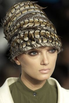 Fashion Accessory for the Hat, Invited to a Winter Wedding