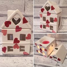 Handcrafted Emma Bridgewater Decoupage Tealight Wax Melts Oil Burner, Home gift  | eBay