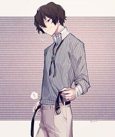 Dazai Bungou Stray Dogs, Stray Dogs Anime, Dazai Osamu, Black Butler Anime, Juuzou Suzuya, Cute Anime Boy, Anime Scenery, My Escape, Character Art