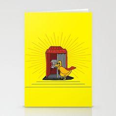 superduck Stationery Cards by creaziz - $12.00