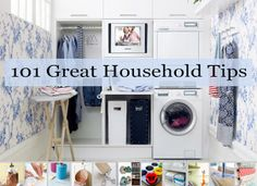 Glamumous's 101 Household Tips for Every Room in Your Home. There is something for everyone in here!! Repin please.