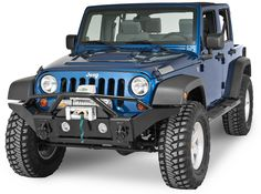 Rampage Products Front Recovery Bumper for 07-16 Jeep® Wrangler & Wrangler Unlimited JK | Quadratec