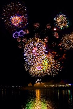 Pretty fireworks