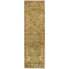 Safavieh Hand-knotted Oushak / Beige Rug