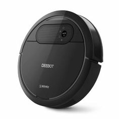 ECOVACS DEEBOT Robotic Vacuum Cleaner, Tangle-free Suction for Pet Hair, Hard Floor - Cleaning Robot - The innovative seamlessly integrates high technology, beautiful appearance and excellent performance into a premium cleaning experience. Good Vacuum Cleaner, Vacuum Cleaners, Pet Vacuum, Dancehall Reggae, Car Cleaning, Floor Cleaning, Cleaning Products, Hard Floor, Water Tank