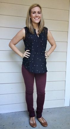 Howland square print crochet detail top and Adora skinny jeans #stitchfix