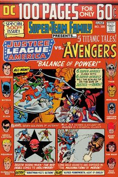 Justice League of America Vs. The Avengers (And More!)