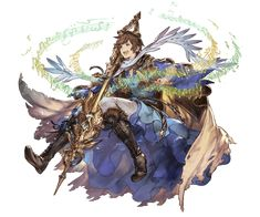 Character Design References, Game Character, Character Concept, Concept Art, Fantasy Warrior, Fantasy Art, Granblue Fantasy Characters, Character Design Inspiration, Anime Style