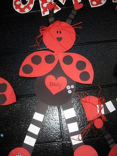 Love Bugs for Valentine's Day...super cute!